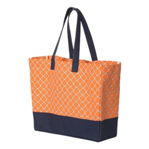 Brookson Bay Full-Pattern Beach Tote